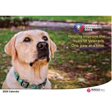 2020 Defence Community Dogs Calendar